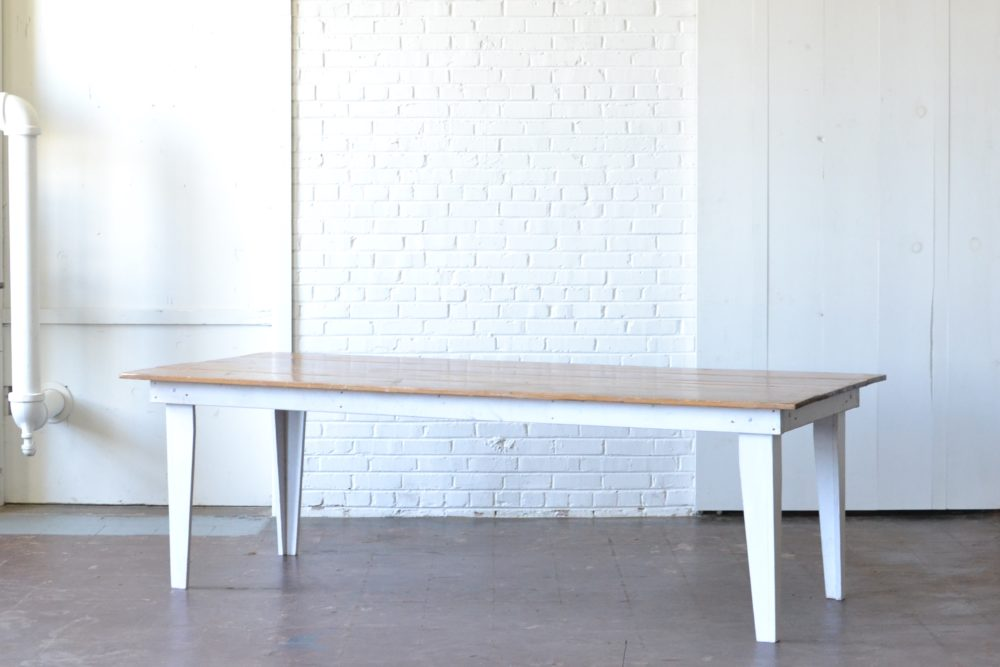Super Excited To Introduce Our Heritage Farm Tables! Perfect For An Upscale  Option For Rustic Reception Seating. These Beautiful Douglas Fir Tables Are  8 ...