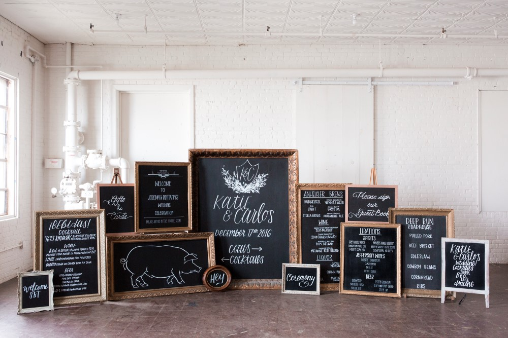 Custom calligraphy for framed signs paisley jade