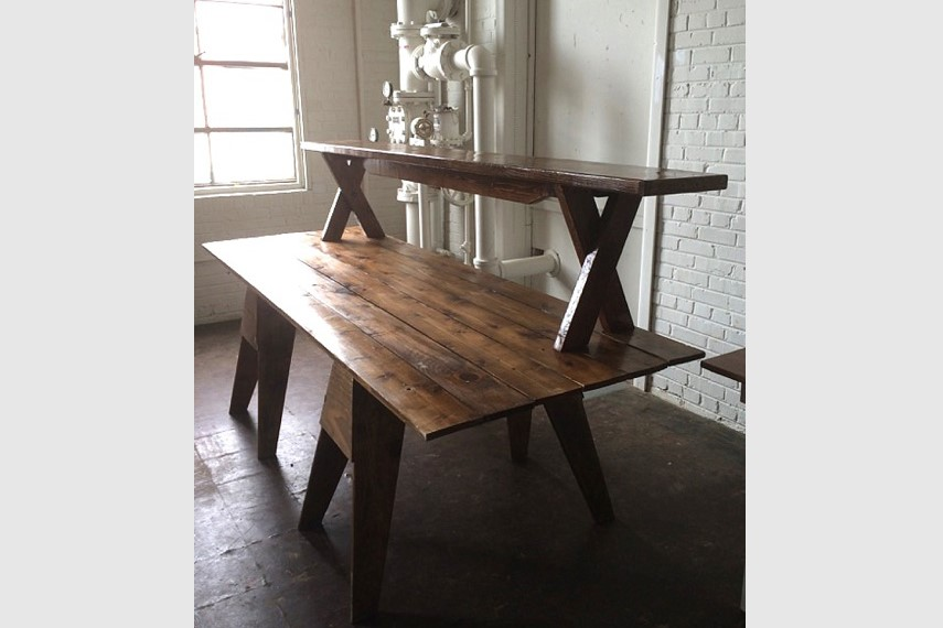 Inspiration Station Farm Table Riser Paisley Jade