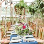 Floral Collective workshop photographed by Katelyn James with vintage and eclectic rentals by Paisley and Jade