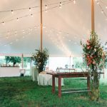 Adrienne and Scott's real wedding at Tuckahoe Plantation featuring electing and vintage rentals by Paisley and Jade