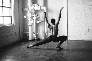 Richmond Ballet Dancer Ira White photographed at Paisley and Jade studio at Highpoint and Moore