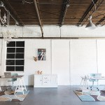 Paisley & Jade industrial style office space in Richmond, Virginia. Photo by Stephanie Yonce Photography