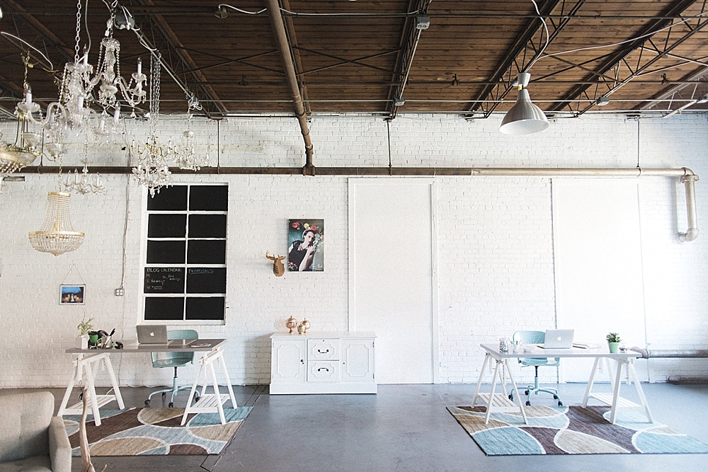 Paisley Jade Industrial Style Office Space In Richmond Virginia Photo By Stephanie Yonce