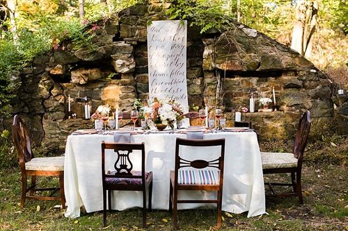 Woodland Wedding Inspiration At Rust Manor House In Leesburg Virginia With  Eclectic And Vintage Rentals By