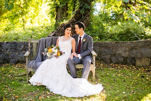 Woodland wedding inspiration at Rust Manor House in Leesburg Virginia with eclectic and vintage rentals by Paisley and Jade