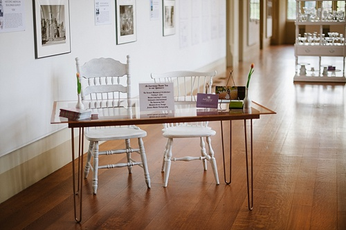 Sweet Fix Dessert Series at Branch Museum of Architecture and Design in Richmond Virginia with eclectic and vintage furniture rentals by paisley and jade