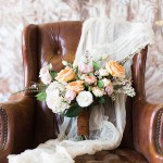 Gorgeous feminine and forest inspired styled shoot by Glint Events shot at the Paisley and Jade showroom in Richmond Virginia
