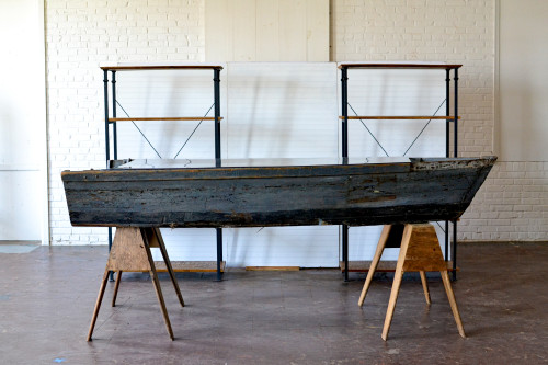 inspiration station-boat bar - beadboard - wooden industrial shelf - trade show (16 of 16)