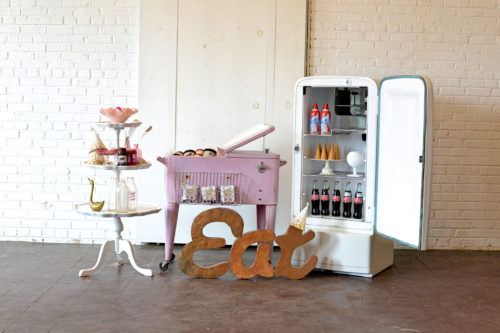 Inspiration Station - ice cream - fridge - tiered tables (2 of 29)