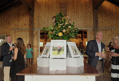 Charlottesville Wine and Country Magazine Release Party at Mt. Ida Farm with specialty rentals by Paisley and Jade