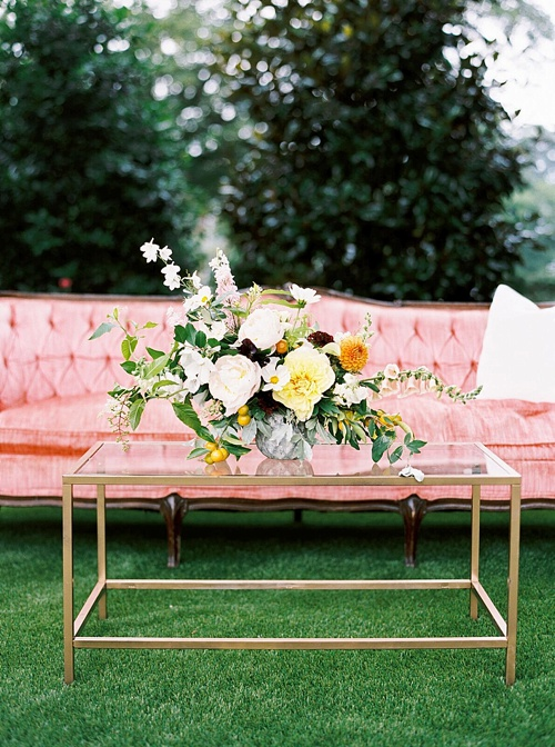 The School of Styling's Summer Bash in Raleigh North Carolina with specialty vintage rentals by Paisley and Jade