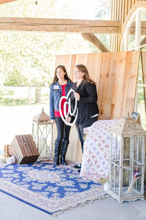 Fall For Creative event at Big Spring Farm by Creative At Heart with specialty rentals by Paisley and Jade
