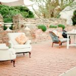 Copper inspired vow renewal shoot at Pharsalia with specialty rentals by Paisley and Jade