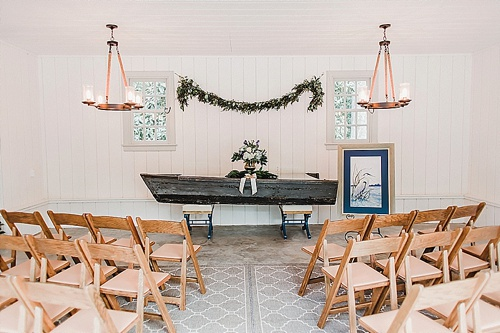 Charming Oyster inspired wedding at Seven Springs with specialty rentals by Paisley and Jade