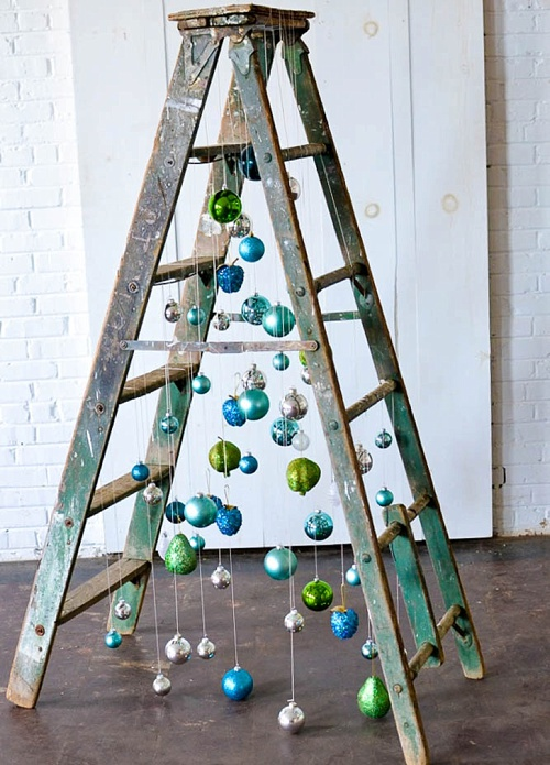 Inspiration Station Fun And Funky Ladder Christmas Tree