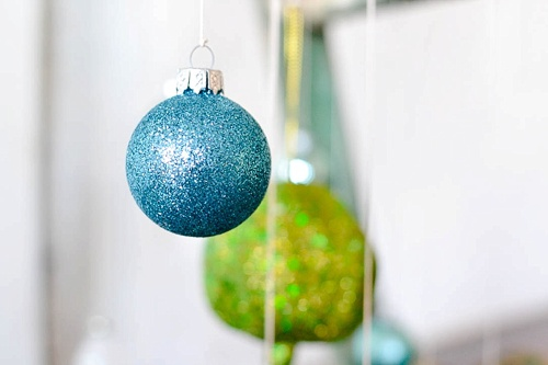 Fun and Fun Christmas Tree inspiration using a vintage wooden ladder from Paisley and Jade at Highpoint and Moore