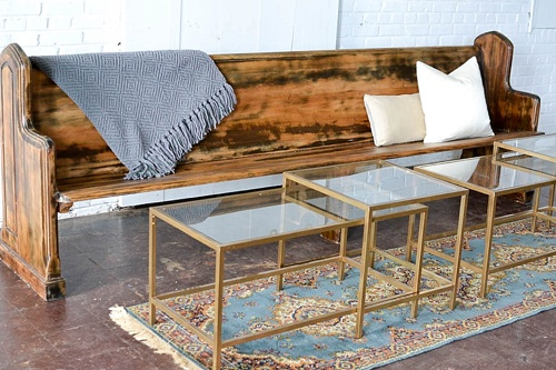 Inspiration station design at Highpoint and Moore with specialty rental items by Paisley & Jade