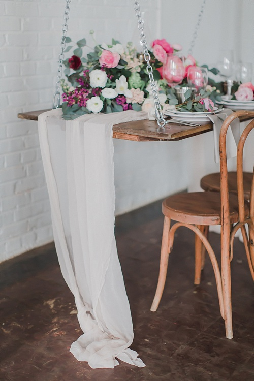 Enchanting peony inspired wedding shoot by Annamarie Akins , Whimsy Event Planning and Amanda Veronee at Highpoint & Moore with space and specialty rentals by Paisley & Jade