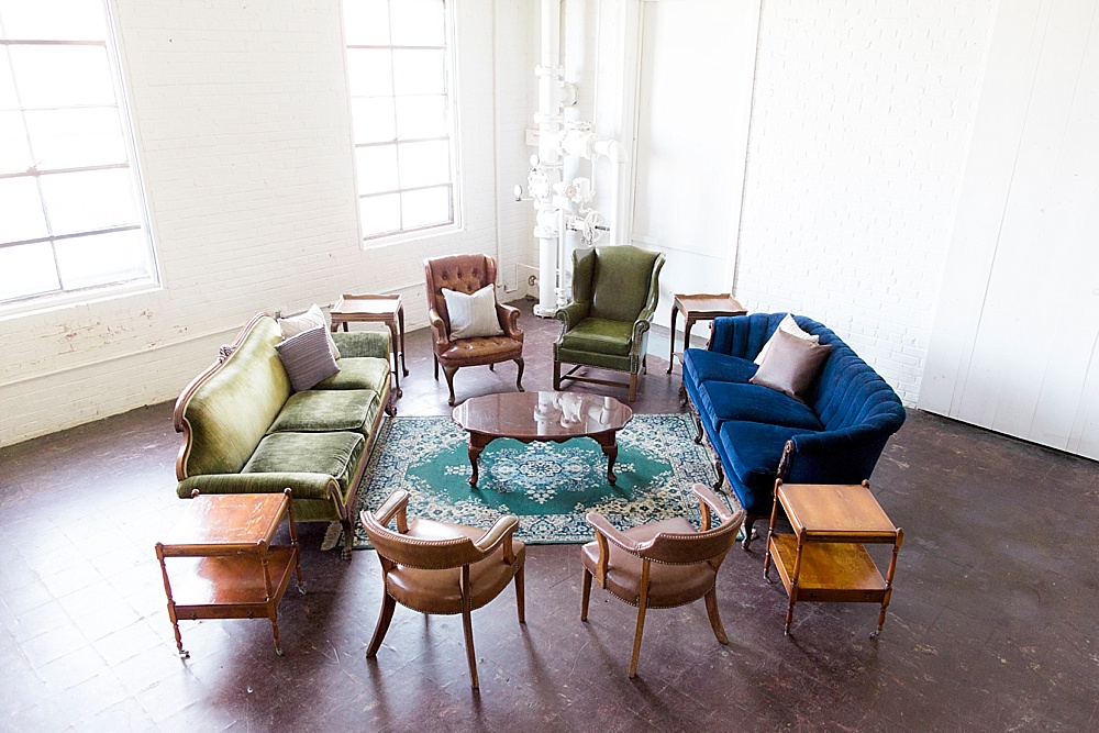 The Shepparton Lounge Package by Paisley & Jade photographed by Stephanie Yonce at Highpoint & Moore