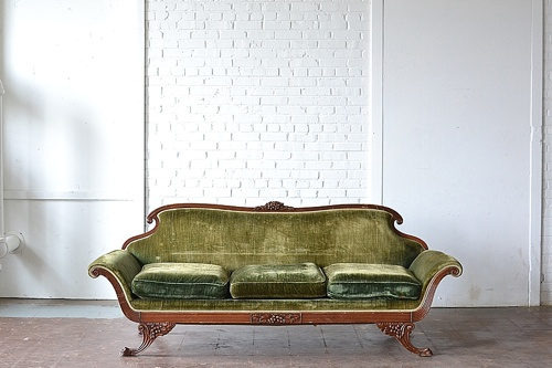 The Burlington Sofa available for rent by Paisley & Jade