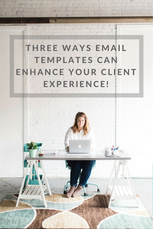 Three ways email templates can enhance your client experience from Paisley & Jade!