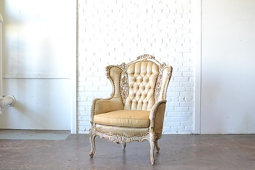 Vintage Marseille chair available for rent by Paisley & Jade