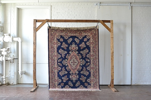 "Vintage ""Dickinson"" rug available for rent by Paisley & Jade"