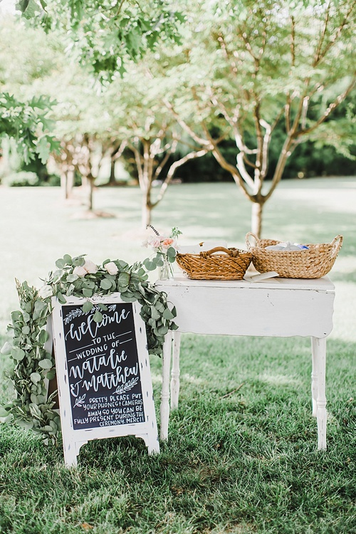 Elegant wedding at The Inn at Huntingfield Creek with specialty rentals by Paisley & Jade