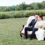 each & white wedding inspiration styled shoot at Early Mountain Vineyards with specialty and vintage rentals by Paisley & Jade