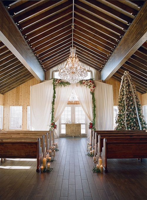 Gorgeous holiday wedding inspiration at Mount Ida Farm with specialty and vintage rentals by Paisley & Jade