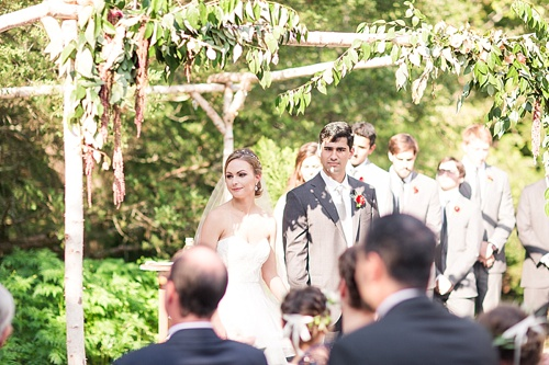 Gorgeous outdoor wedding at The Mill at Fine Creek with photography by Katelyn James and specialty rentals by Paisley and Jade