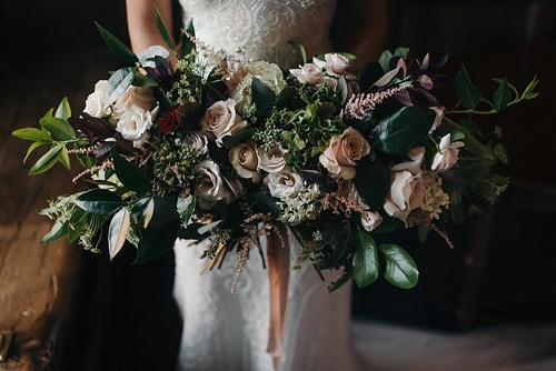 Gorgeous fine art bridal styled shoot at the Virginia House with planning by Maggie Richard Designs, photography by Alex C. Tenser and specialty and vintage rentals by Paisley & Jade.