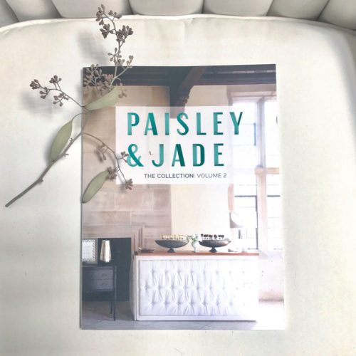 #pandjinprint made way in Year 5. This catalog features all of Paisley & jade's vintage and specialty rental inventory!