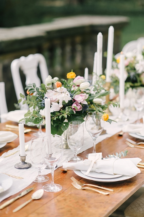 Gorgeous Spring styled shoot a The Virginia House in Richmond planned by Blush Events with images by Sarah Street Photography and specialty and vintage rentals by Paisley & Jade