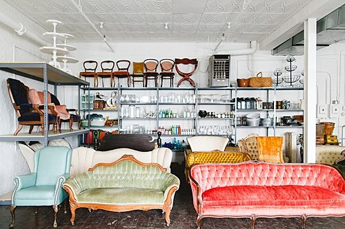 Stephanie Yonce Photography stopped by our new home at Highpoint & Moore and snapped some photos of our vintage and specialty rental inventory!