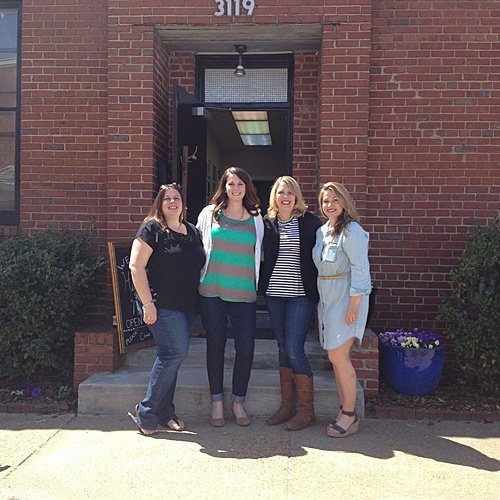 Paisley & Jade found their home in Scott's Addition with Glint Events and The Green Flamingo where they could bring their entire vintage and specialty rental inventory collection!