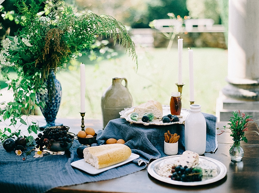 Romantic and Moody Styled Shoot at Dover Hall in Virginia with Specialty Rental Items by Paisley & Jade