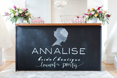Gorgeous artistic and custom hand-lettering for weddings and events by Paisley & Jade