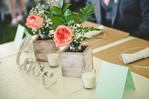 Pretty pastel wedding at Westover Plantation with specialty and vintage rentals by Paisley & Jade