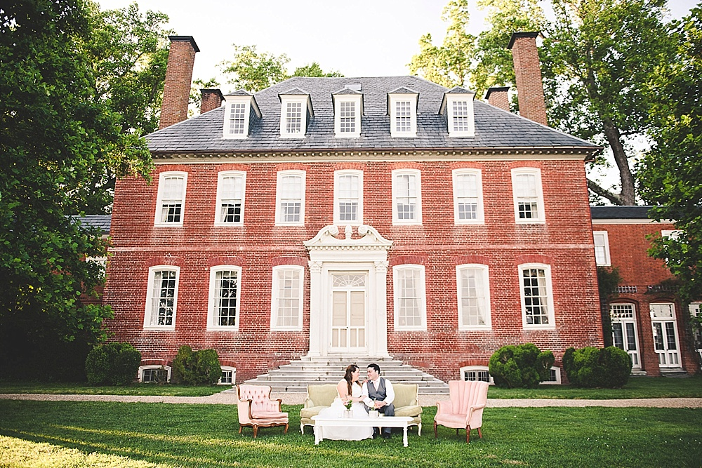 Pretty Pastels! - Audrey & Nael Tie The Knot at Westover