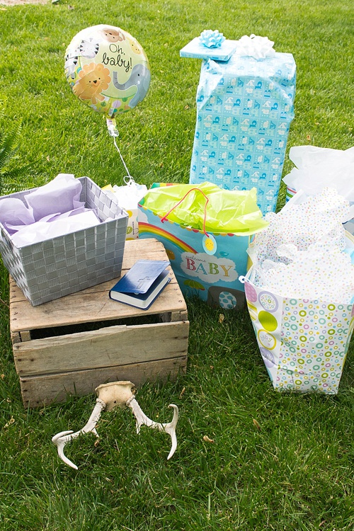 Beautiful boho baby shower with specialty and vintage rentals by Paisley & Jade