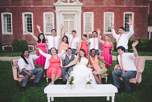 Pretty pastel wedding at Westover Plantation with vintage and specialty rentals by Paisley and Jade