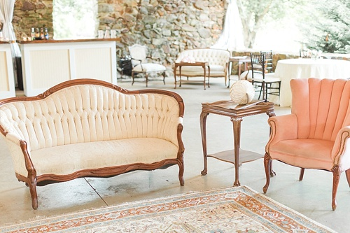 Classic and chic wedding at The Inn at Willow Grove with vintage and specialty rentals by Paisley and Jade