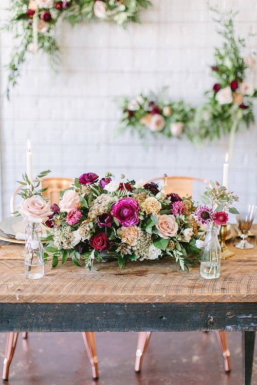Gorgeous styled shoot with two handsome grooms at Highpoint and Moore with space, vintage and specialty rentals by Paisley and Jade