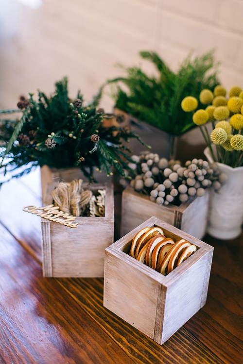Fun and festive Holiday Wrap Bash by Tart Event Co with space and specialty rentals provided by Paisley & Jade