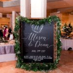 Chic real wedding at the VMFA in Richmond, Virginia with specialty and vintage rentals by Paisley & Jade