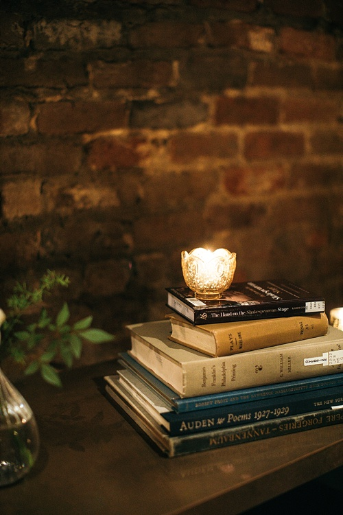 Moody and romantic literary inspired wedding in Charlottesville with specialty and vintage rentals by Paisley & Jade