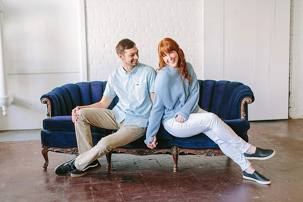 Bri & Wes Photography Branding Shoot with space and specialty rentals by Paisley & Jade