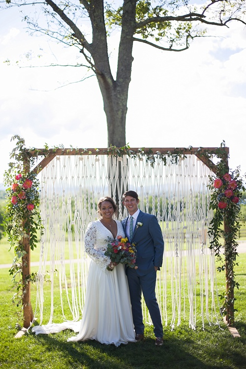 Beautifully Boho Chelsea Amp Tom Tie The Knot At Mount